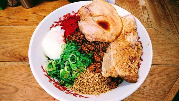 「特製汁なし担々麺(並)」@自家製麺 てんかの写真