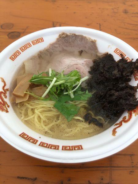 「極上淡麗貝出汁潮ラーメン」@大つけ麺博 美味しいラーメン集まりすぎ祭の写真