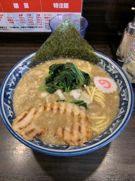 「にぼとん」@麺屋 武士道 本店の写真