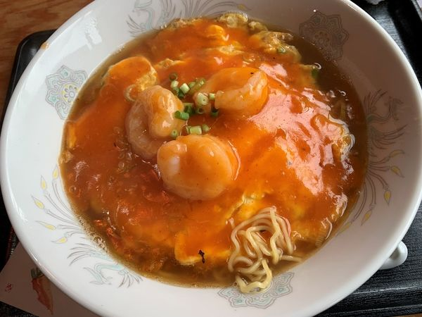 「海老チリ天津麺」@中華居酒屋 満香楼の写真