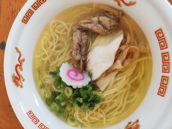 「黄金塩そば」@大つけ麺博 美味しいラーメン集まりすぎ祭の写真