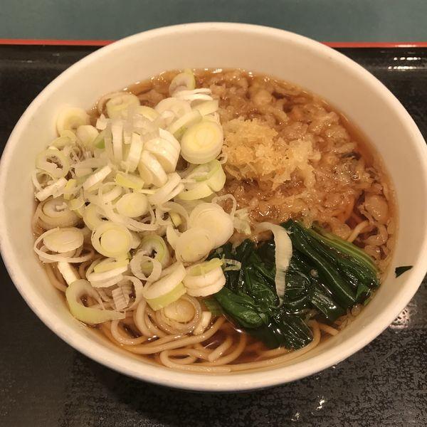 「たぬき(¥350)」@小諸そば 芝浦店の写真