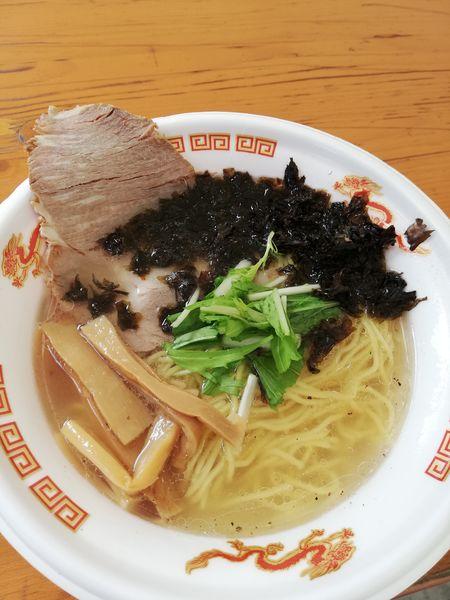「貝だし潮ラーメン」@大つけ麺博 美味しいラーメン集まりすぎ祭の写真