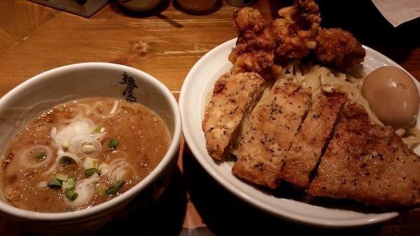 「濃厚二天つけ麺」@麺屋武蔵 二天の写真