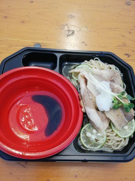 「冷やしすだち煮干蕎麦 鴨油のつけダレ付き」@大つけ麺博 美味しいラーメン集まりすぎ祭の写真