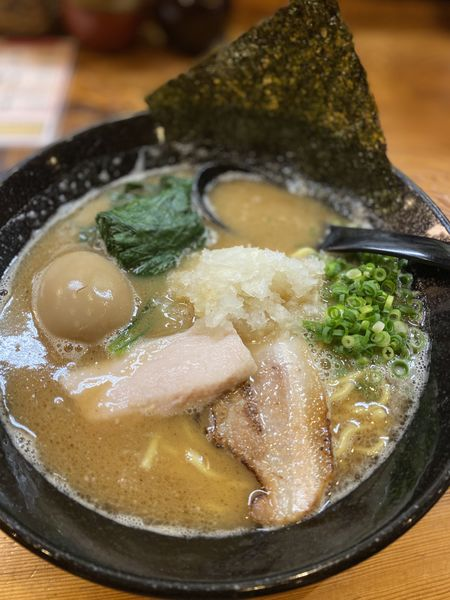 「鶏白湯ラーメン」@三代目麺処 「まるは」極 船橋店の写真