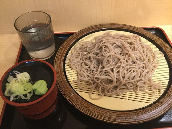 「石臼挽きもりそば(¥360)」@そば新 御茶ノ水店の写真