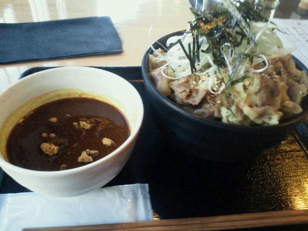 「カレー肉蕎麦 900円」@和食・うな串・肉蕎麦 ふくやの写真