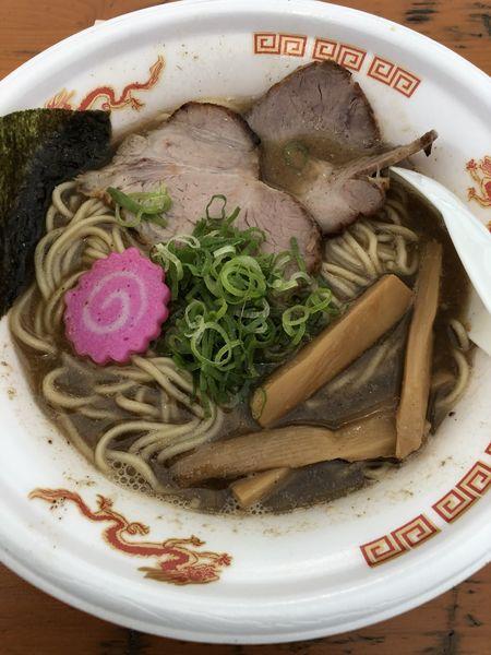 「【麺屋にぼすけ】秋田濃厚煮干そば」@大つけ麺博 美味しいラーメン集まりすぎ祭の写真