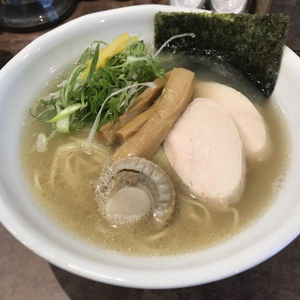 「【数量限定】淡麗塩ホタテそば(¥880)」@NOODLE VOICEの写真