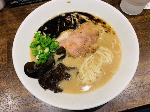 「限定:小川BLACK」@らーめん専門店 小川 高幡不動店の写真