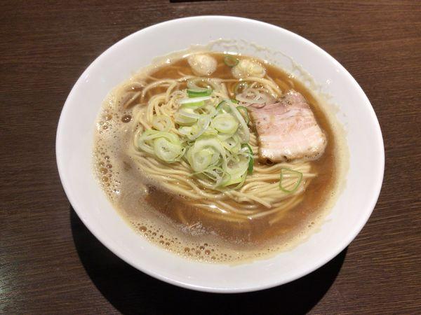 「煮干しそば」@麺処 遊 蕨店の写真