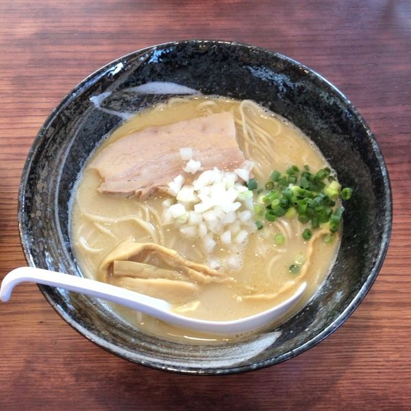 「とりそば 塩(750円)」@麺堂 稲葉の写真