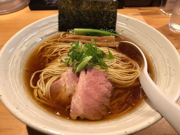 「らぁ麺(醤油)」@麺屋 さくら井の写真