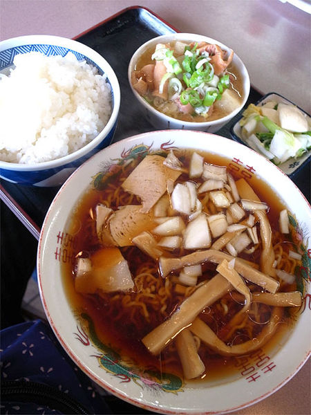 「ラーメン定食…1,000円」@円城の写真