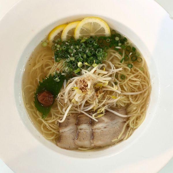 「【期間限定】塩レモン麺 (880円)」@麺's ら・ぱしゃ 霧島空港口店の写真