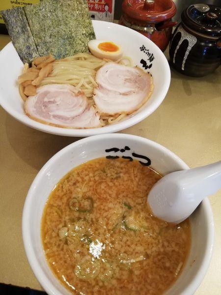 「つけ麺空ゆず」@超ごってり麺 ごっつ 秋葉原店の写真