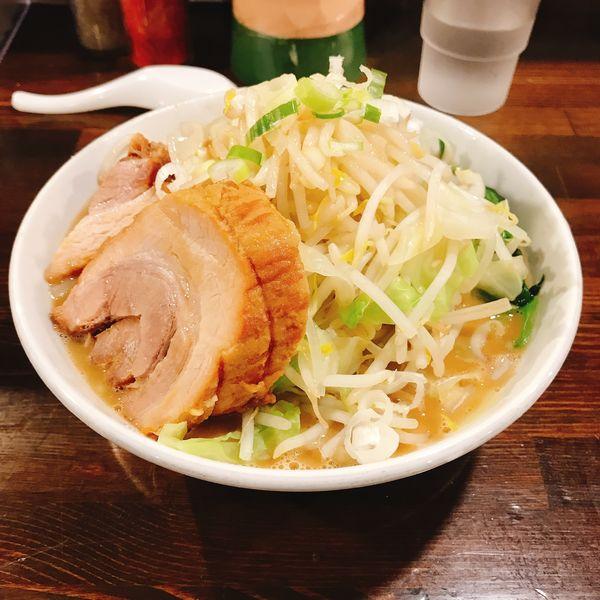 「ラーメン(豚一枚)」@ちばから 渋谷道玄坂店の写真