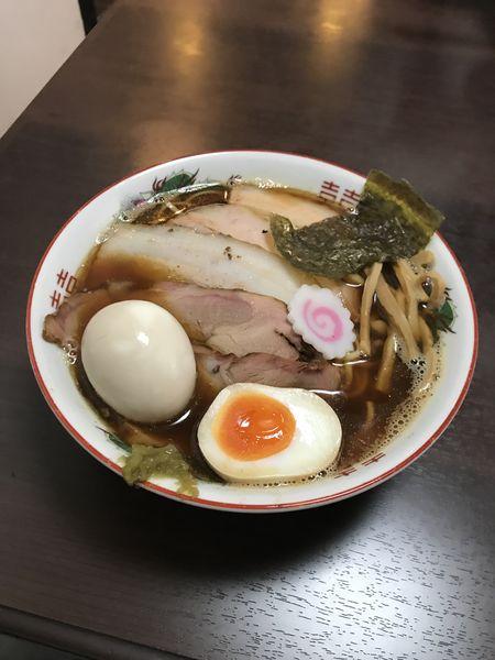 「追い煮干しチャーシュー麺【醤油】」@麺座 かたぶつの写真