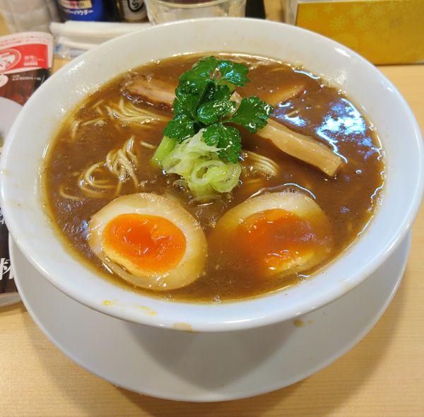「煮干し醤油そば(ハード)」@らーめんDINING れんげの写真