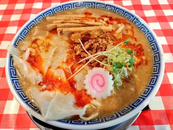 「気まぐれ限定 担々麺」@ぬーじボンボン ニュータイプの写真