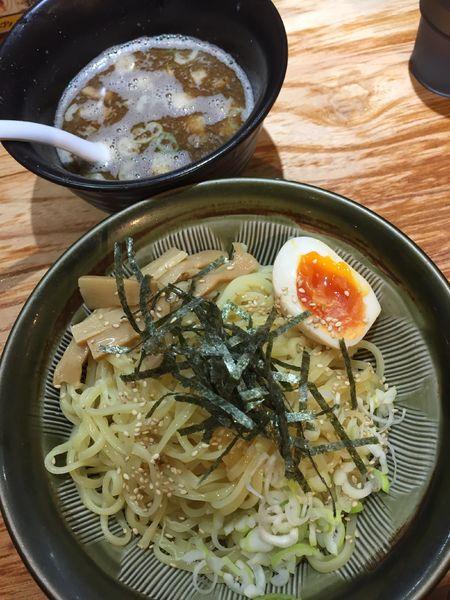 「武士つけ麺¥860+ライス¥100」@横浜らーめん 壱八家 本厚木店の写真