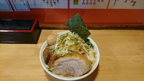 「ミニラーメン¥780 麺ホギホギ」@ちばから 郡山店の写真