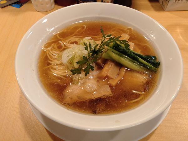 「醤油ラーメン」@らーめんDINING れんげの写真