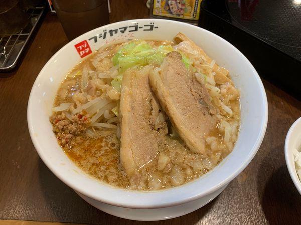 「味噌太郎 890円 ごはん付き」@つけ麺・ラーメン  フジヤマ55 大須総本店の写真