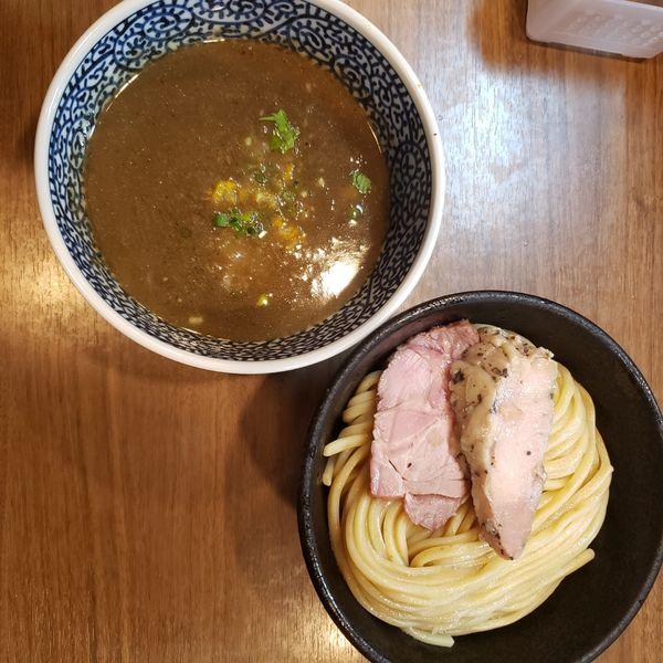 「つけ麺中盛り」@煮干しつけ麺 宮元の写真