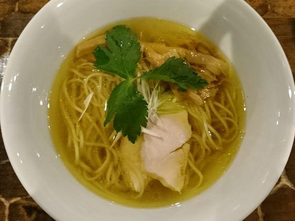 「天草大王清湯(塩)」@特級鶏蕎麦 龍介の写真