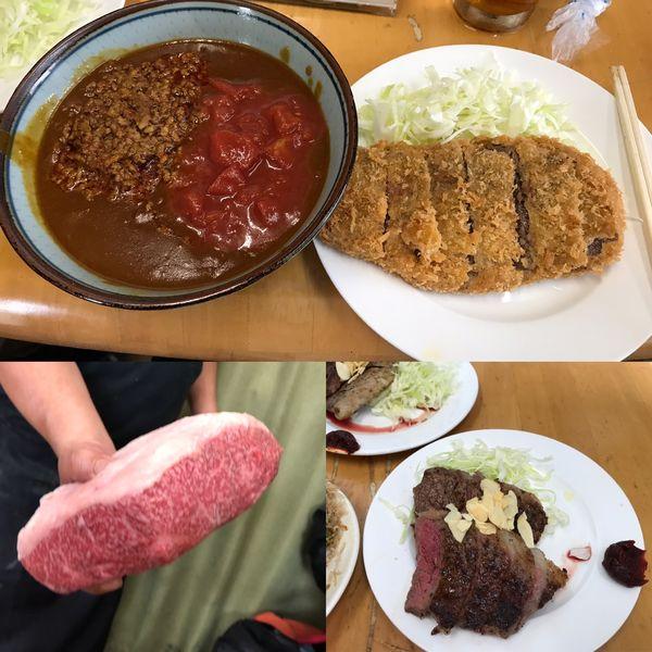「キーマ風カレー+ 辛牛キーマ風移行」@MENYA 食い味の道有楽の写真