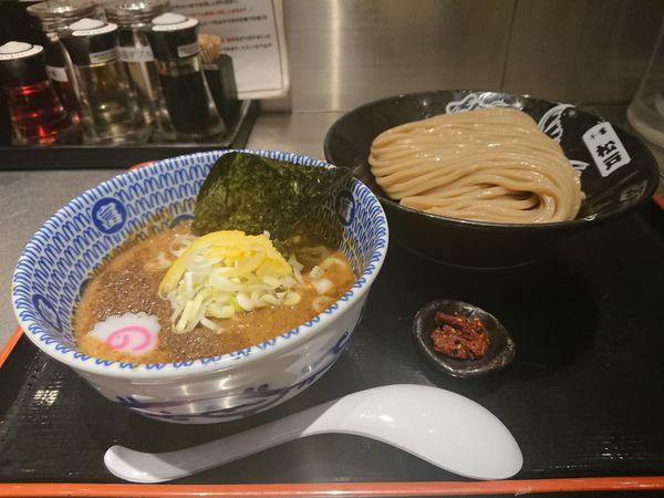 「濃厚つけめん+特製辛味」@松戸富田麺絆の写真