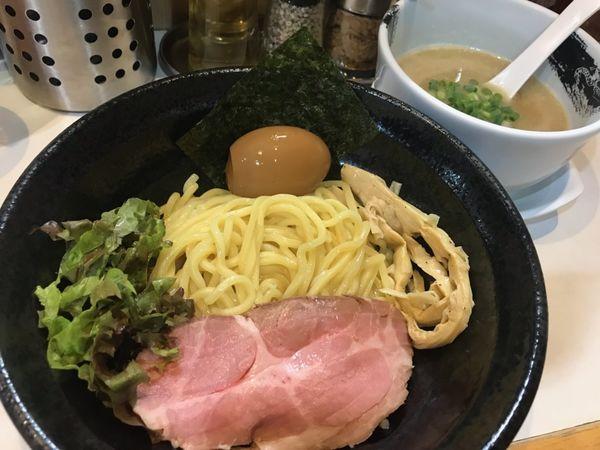 「濃厚つけめん(味玉入り)」@麺屋 扇 SENの写真