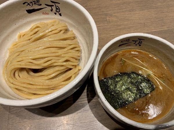 「つけ麺 中盛」@つけ麺 一頂の写真